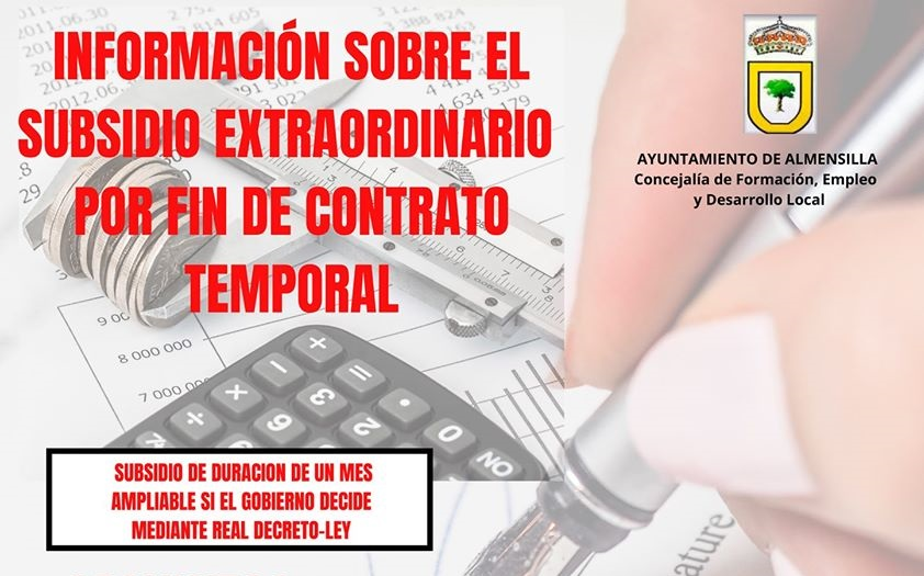 Subsidio de desempleo en Almensilla