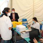 Un tercio de la población de Gines ya está vacunada