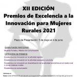 XII EDICIÓN DE LOS PREMIOS DE EXCELENCIA A LA INNOVACIÓN PARA MUJERES RURALES