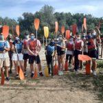 Jóvenes de Gines participan en actividades de multiaventura en el Corredor Verde del Guadiamar