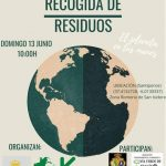 ACTIVIDAD DE RECOGIDA DE RESIDUOS EN LA ISLA TERCIA DE SANTIPONCE