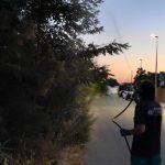 El Ayuntamiento  de Puebla del Río intensifica las labores de fumigación contra los mosquitos